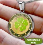 Lucky Circle necklace ntk-18sh005