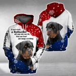 ROTTWEILER will come into your life 3D Full Printing Hoodie