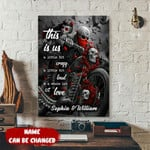 Personalized This Is Us Biker Canvas tdh   hqt-15sh005