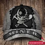 Personalized MINER Classic Caps 3D Printing 30HL047