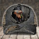 DUCK HUNTING CAMO PERSONALIZED CAP