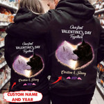 Pesonalized Our First Valentines Day Together Wolf Hoodie HQT-16sh002