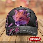 Fox Hunting Personalized Cap nla-30tp033