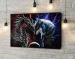 Dragon & Wolf Canvas HP-15HL024
