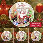 Ornament Christmas Love & Dog Gift HLT-ORNQ001