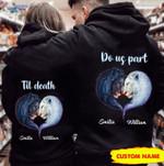 Perssonalized Til Death Do Us Part Lion Hoodies NVL-16CT001