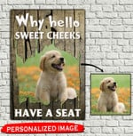 Personalized Why Hello Sweet Cheeks Have A Seat Canvas Full Printing HTT-15XT035