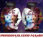 Personalized Till Our Last Breath Couple Bear Hoodies 3D Full Printing NVL