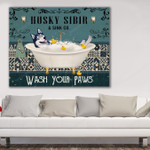 Horizontal Canvas Template Husky Sibir NVL-15VA004