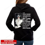 Personalized name Collie Hoodie HQT-16sh061