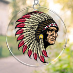 Native American PRINTS Suncatcher HQT-41TP007
