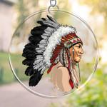Native American  PRINTS Suncatcher HQT-41TP013