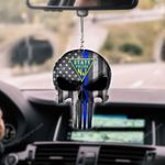New Jersey State Police Punisher CAR HANGING ORNAMENT HQT-37CT22