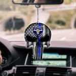 Colorado State Patrol Punisher CAR HANGING ORNAMENT HQT-37CT23