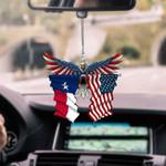 Texas Eagle CAR HANGING ORNAMEN tdh | hqt-37tp007