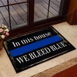 Police Doormat 3D Printing HTT-DTT012