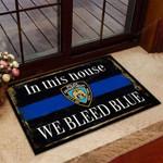 New York City Police Department Doormat 3D Printing HTT-DTT013