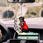 Rottweiler CAR HANGING ORNAMENT hqt-37tp018