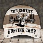 Customized text deer hunting camp classic cap