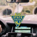 New Jersey State Police CAR HANGING ORNAMEN tdh | hqt-37sh011