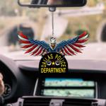 Dallas Police Department CAR HANGING ORNAMEN tdh   hqt-37TP029