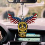 Virginia State Police CAR HANGING ORNAMEN tdh | hqt-37TP031