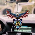 New York City Police Department CAR HANGING ORNAMEN tdh   hqt-37TP036
