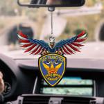 San Francisco Police Department CAR HANGING ORNAMEN tdh | hqt-37TP037