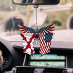 Alabama Eagle CAR HANGING ORNAMEN tdh | HQT-37TP053