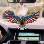 American Eagle CAR HANGING ORNAMENT HP-37HL012
