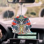 Rebel Skull CAR HANGING ORNAMEN tdh | hqt-37sh026