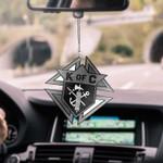 KNIGHT OF COLUMBUS CAR HANGING ORNAMENT