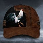 Customized text rooster classic cap