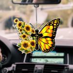 Hippie Love Butterfly CAR HANGING ORNAMENT tdh | HQT-37CTt93