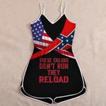 Confederate Flag Jumpsuit 3D Full Printing tdh | hqt-sh060