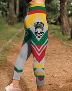 Lithuania Skull 3D Legging Full Printing HQT-LTP002