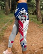 Texas Skull 3D Legging Full Printing HQT-LTP005
