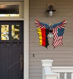 Germany Flag Eagle Cut Metal Sign hqt-49xt040