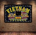 Vietnam Veterans METAL SIGN tdh   hqt-29TT001
