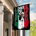 Mexico 3D Full Printing House Flag Garden Flag hqt-fsh007