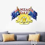 Anzac Day Cut Metal Sign tdh   hqt-49xt058
