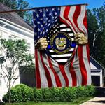 Orlando Police Department Flag 3D Full Printing HTT-FTT531