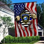 Maryland State Police Flag 3D Full Printing HTT-FTT534