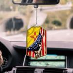 New Mexico Flag CAR HANGING ORNAMENT tdh   hqt-37dd11