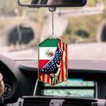 Mexico Flag CAR HANGING ORNAMENT tdh | hqt-37dd15