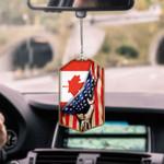 Canada Flag CAR HANGING ORNAMENT tdh   hqt-37dd16