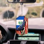 El Salvador Flag CAR HANGING ORNAMENT tdh | hqt-37dd18