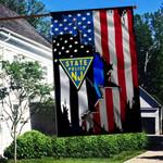New Jersey State Police 3D Flag Full Printing HTT-FTT536