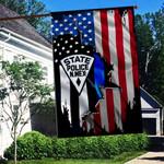 New Mexico State Police 3D Flag Full Printing HTT-FTT540