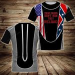 Confederate Flag 3D Full Printing Hoodie and Unisex Tee tdh   hqt-sh067